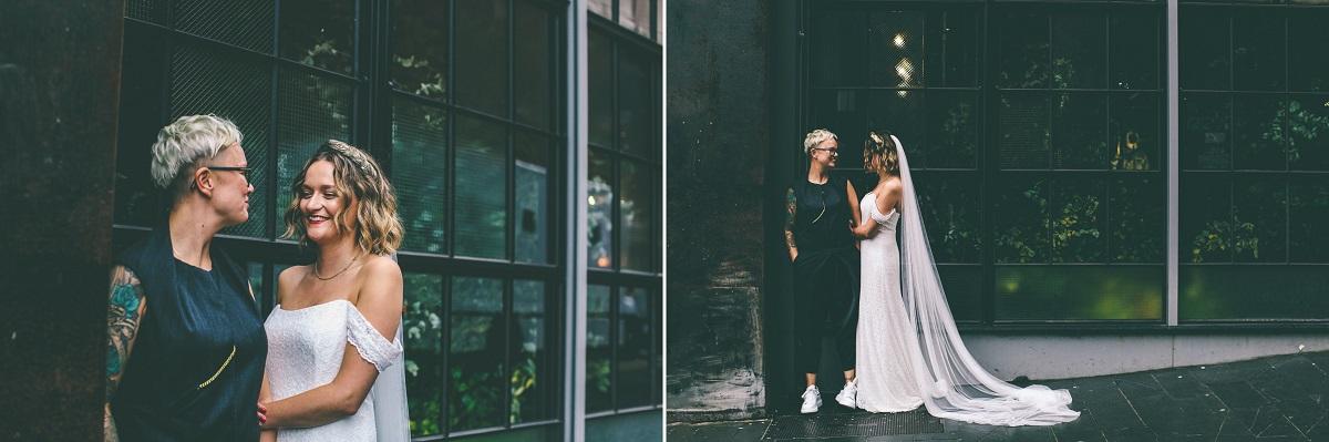 Same Sex Wedding Portraits Manchester