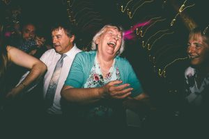 Grandma on dancefloor