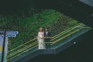 Modern Wedding Portrait