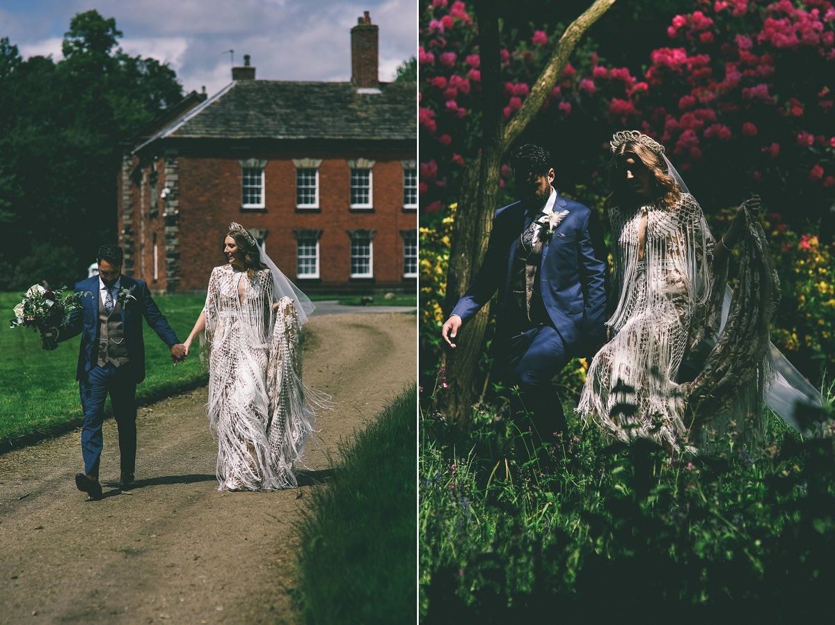Wedding Portraits Adlington Hall