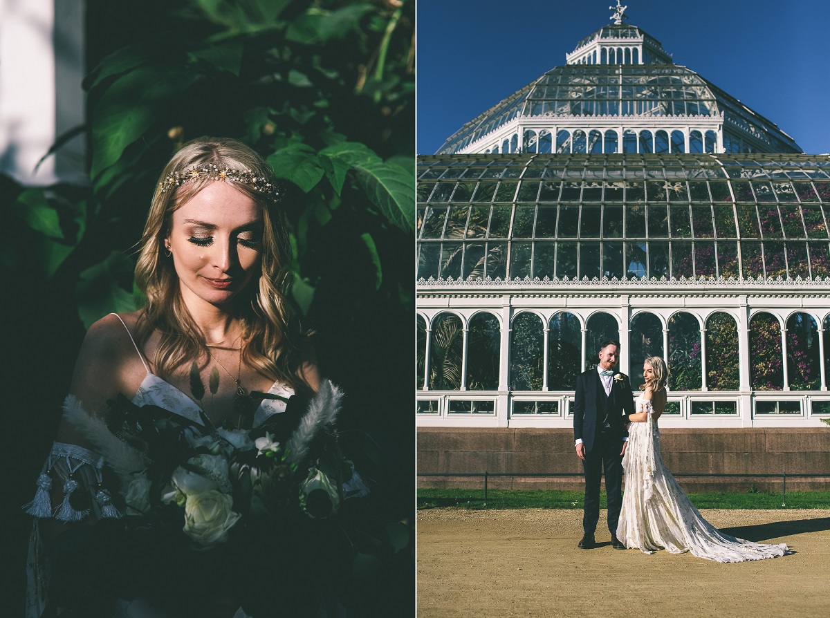 Sefton Park Wedding Portraits