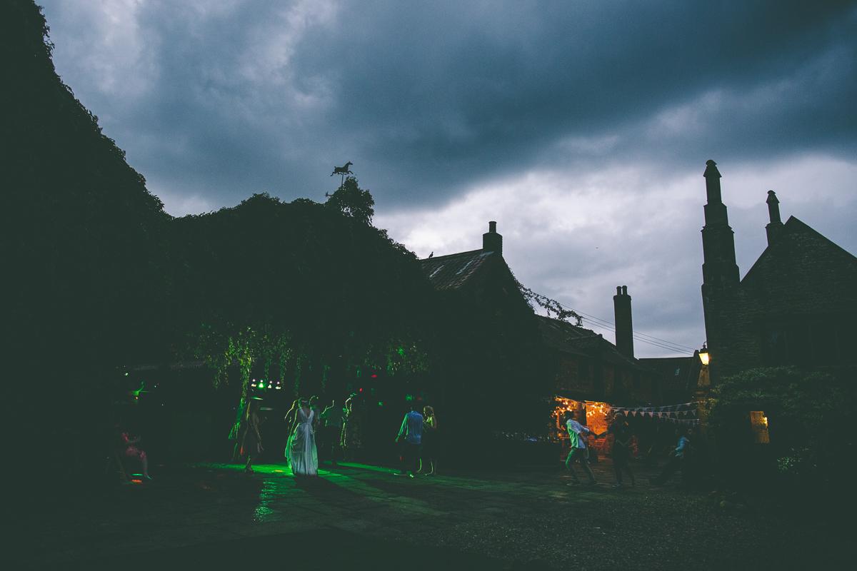Crayke Manor at Night