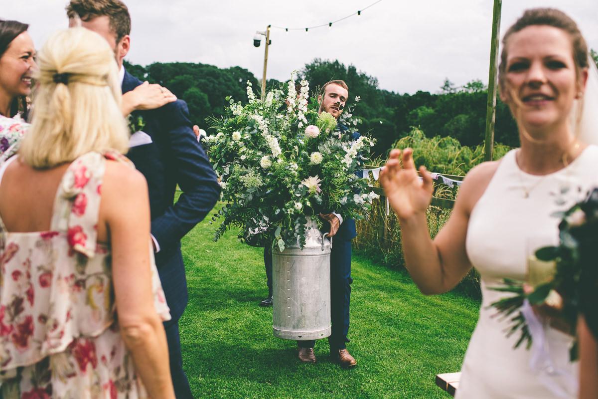 HAdsham Farm Summer Wedding