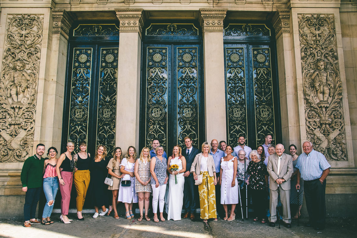 Group Photograph Leeds Town Hall