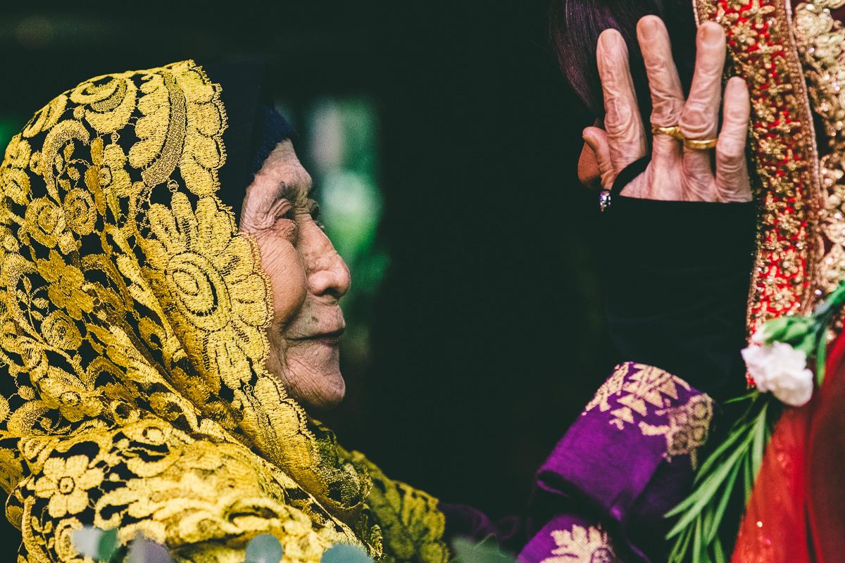 Grandma at Wedding