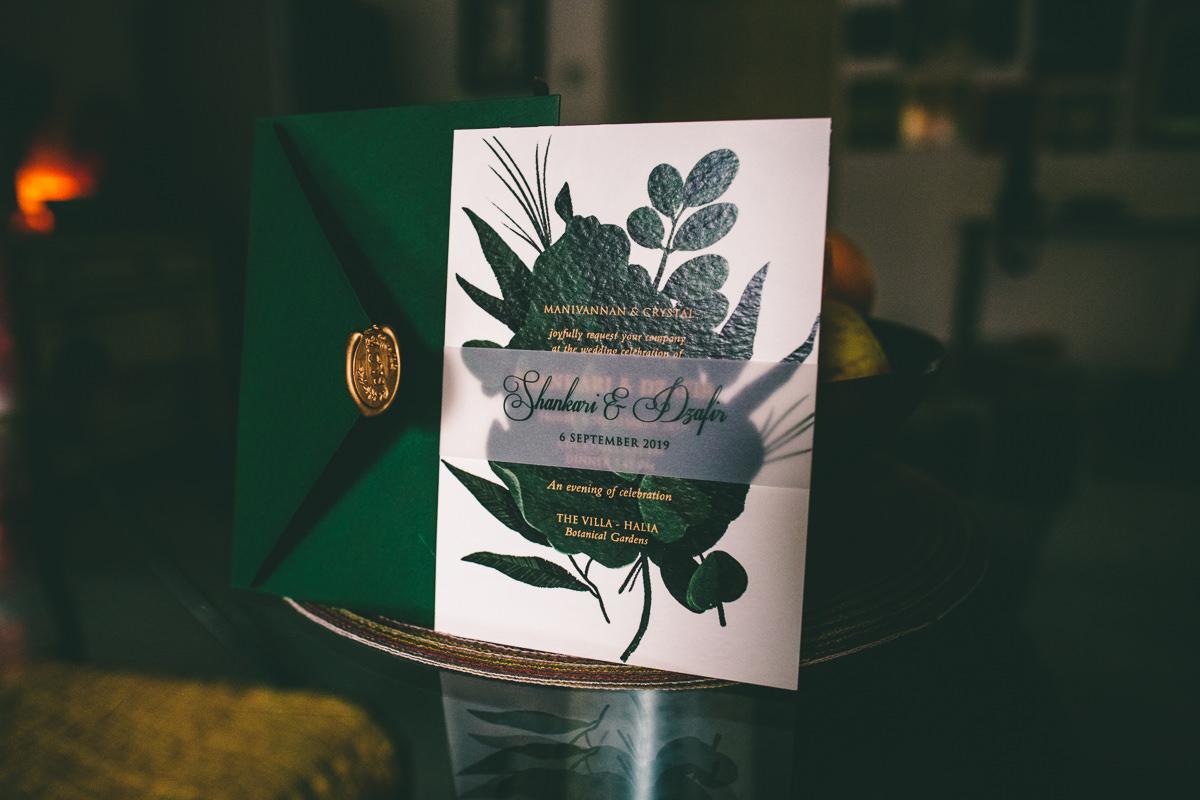 Botanic Themed Invitation