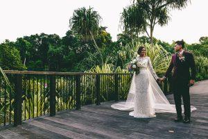 Cool Wedding Portrait Singapore