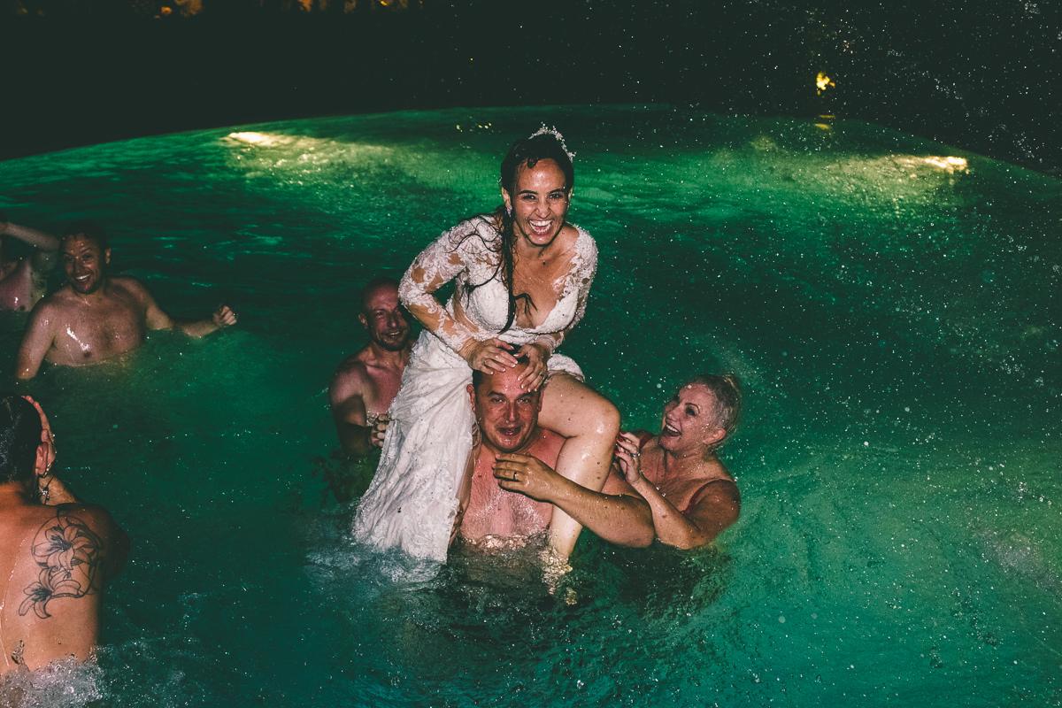 September Pineto Wedding