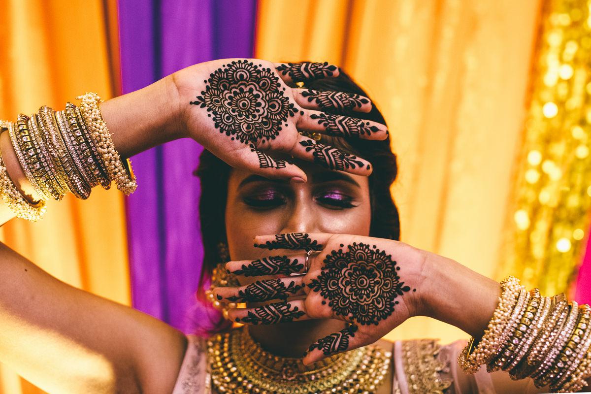 Hindu Bride Make Up