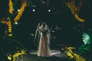 epic Bridal Entrance