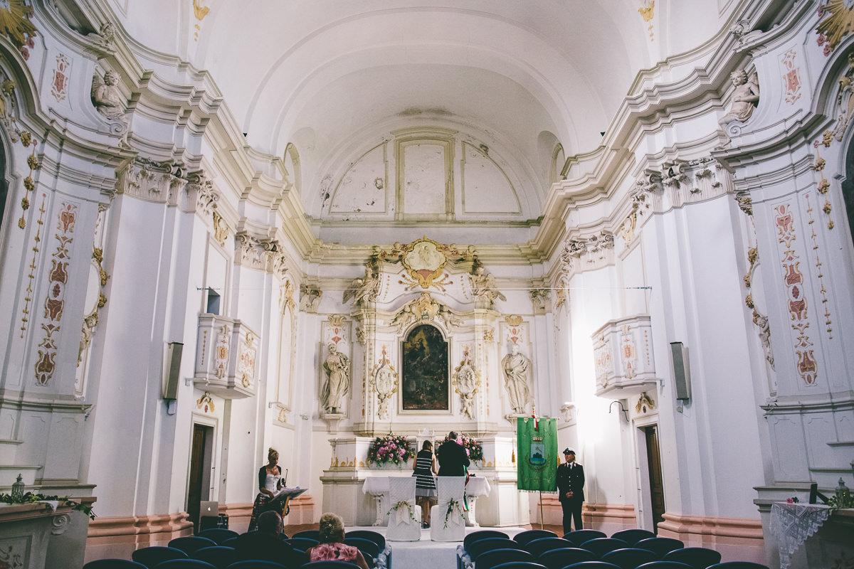 Mutignano Town Hall Interior