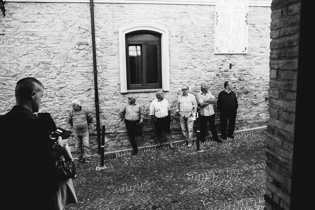 Italian Village Wedding