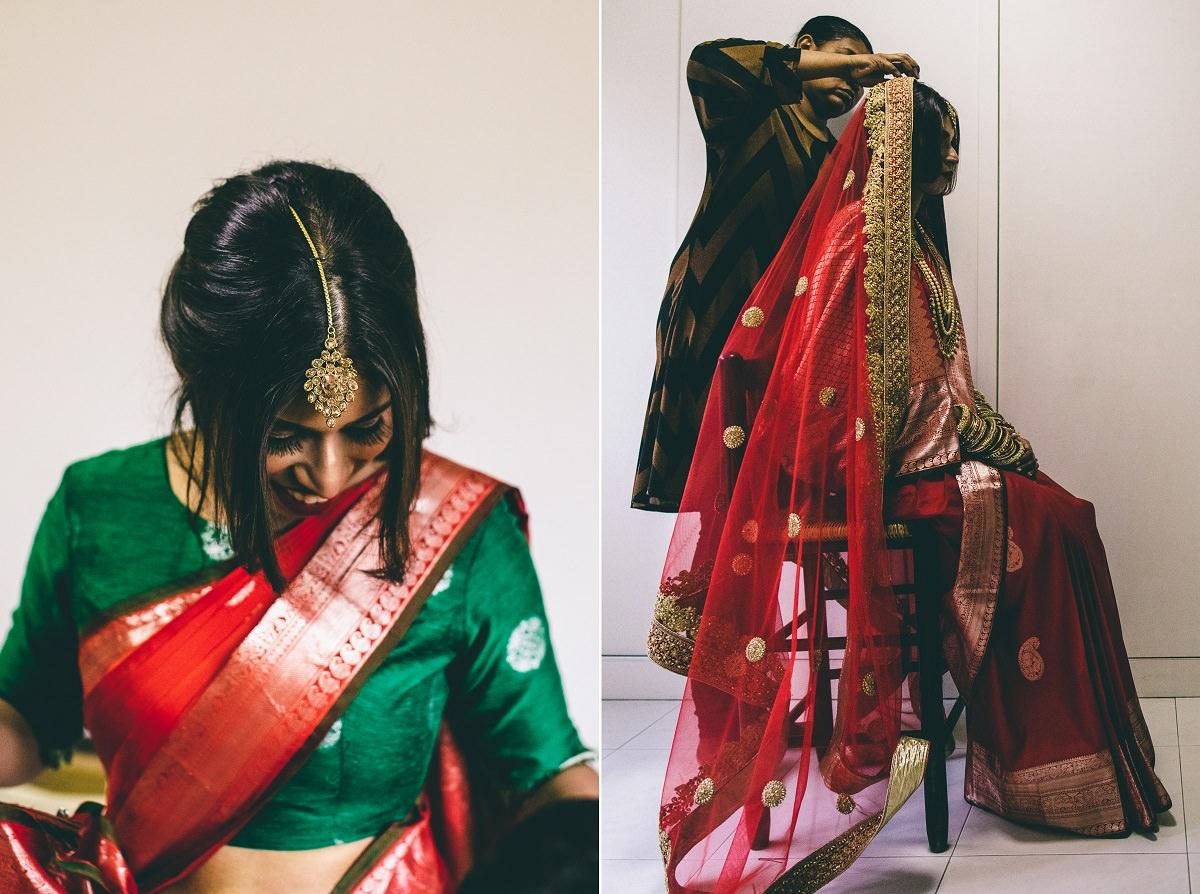 Bridal ,Style Hindu Wedding