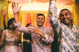 Mehndi Party Dancing