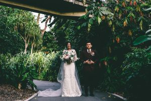Singapore Botanic Gardens Wedding Portrait