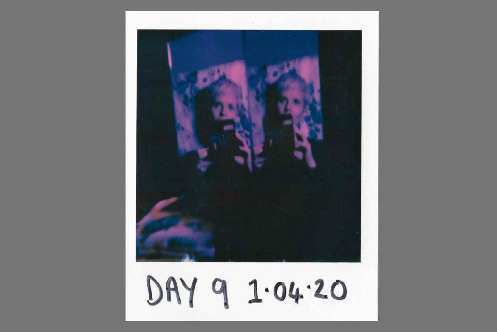 Lockdown Diary on Polaroid