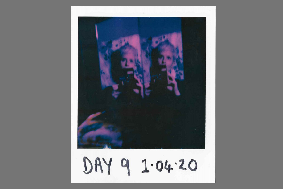 Lockdown Diary on Polaroid