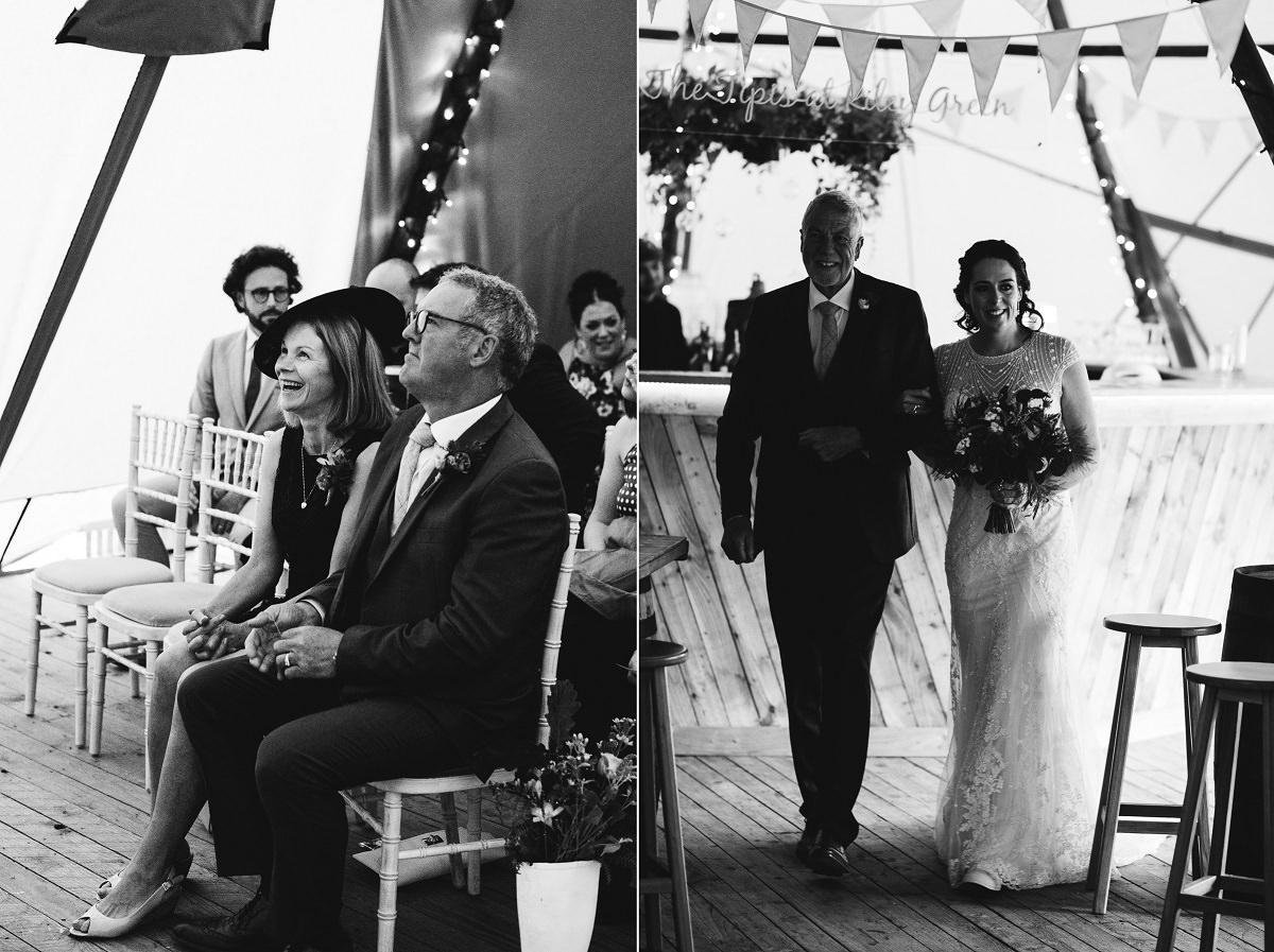 Tipi Wedding Ceremony
