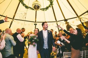 The Tipis at Riley Green Wedding