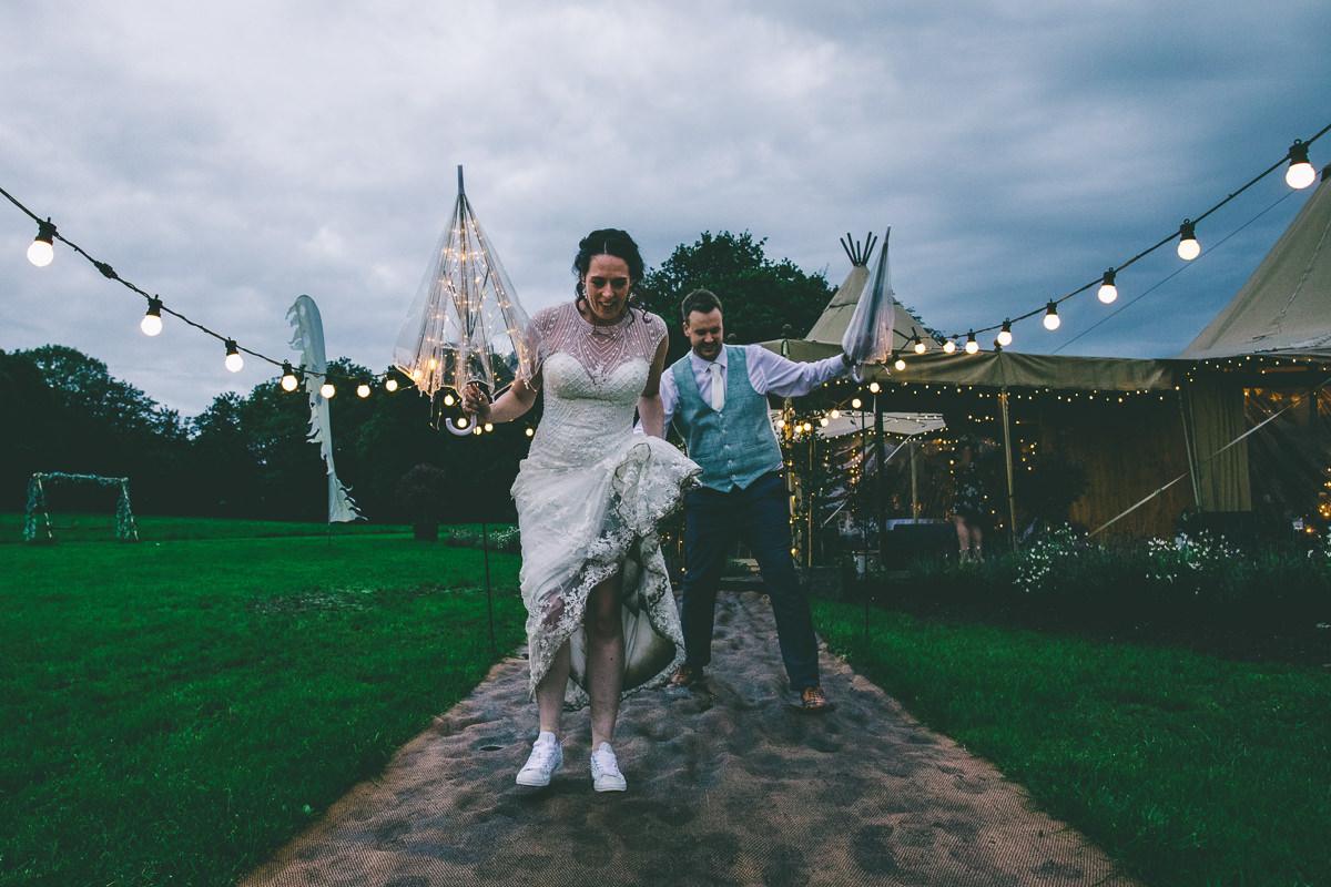 The Tipis at Riley Green Wedding