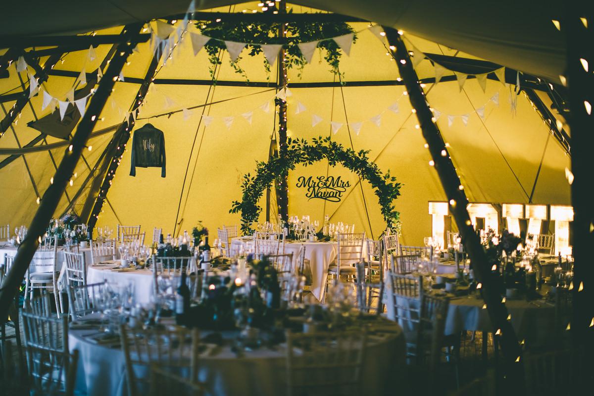 Tipi Wedding Decorations