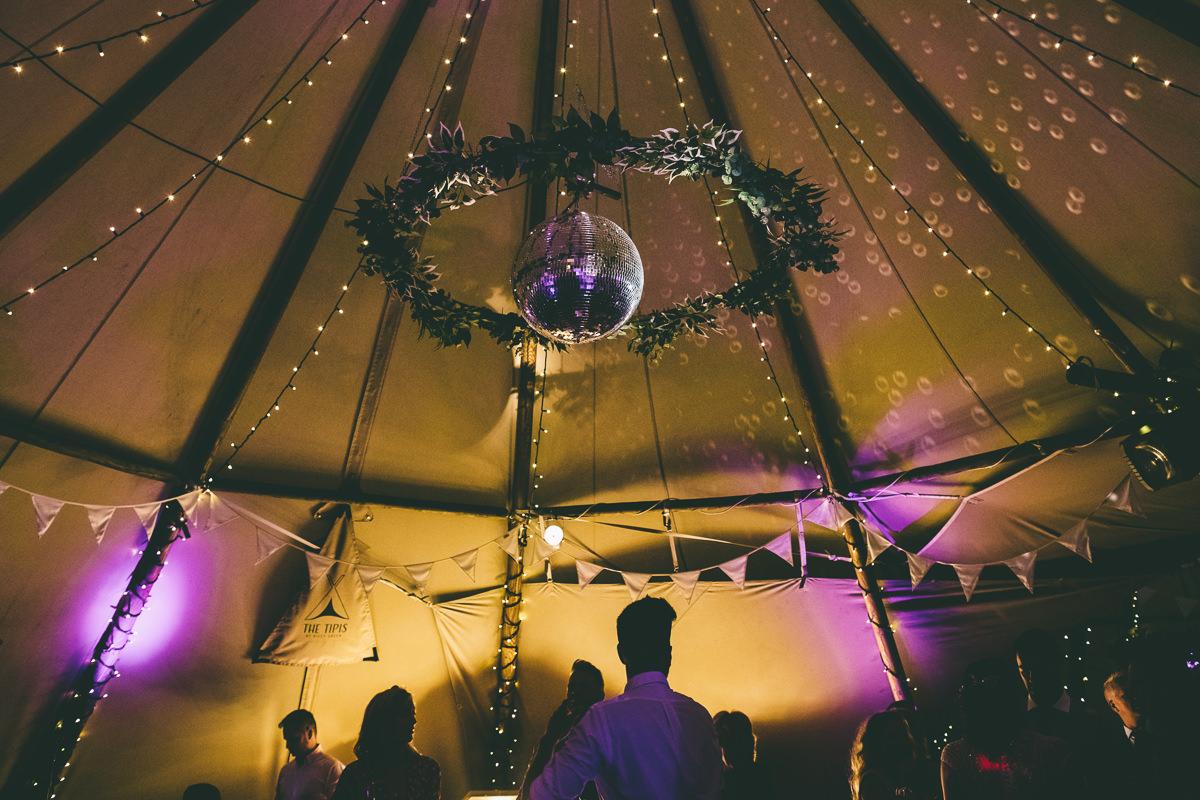 Glitterball Wedding Decor