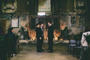 The Asylum London Winter Wedding
