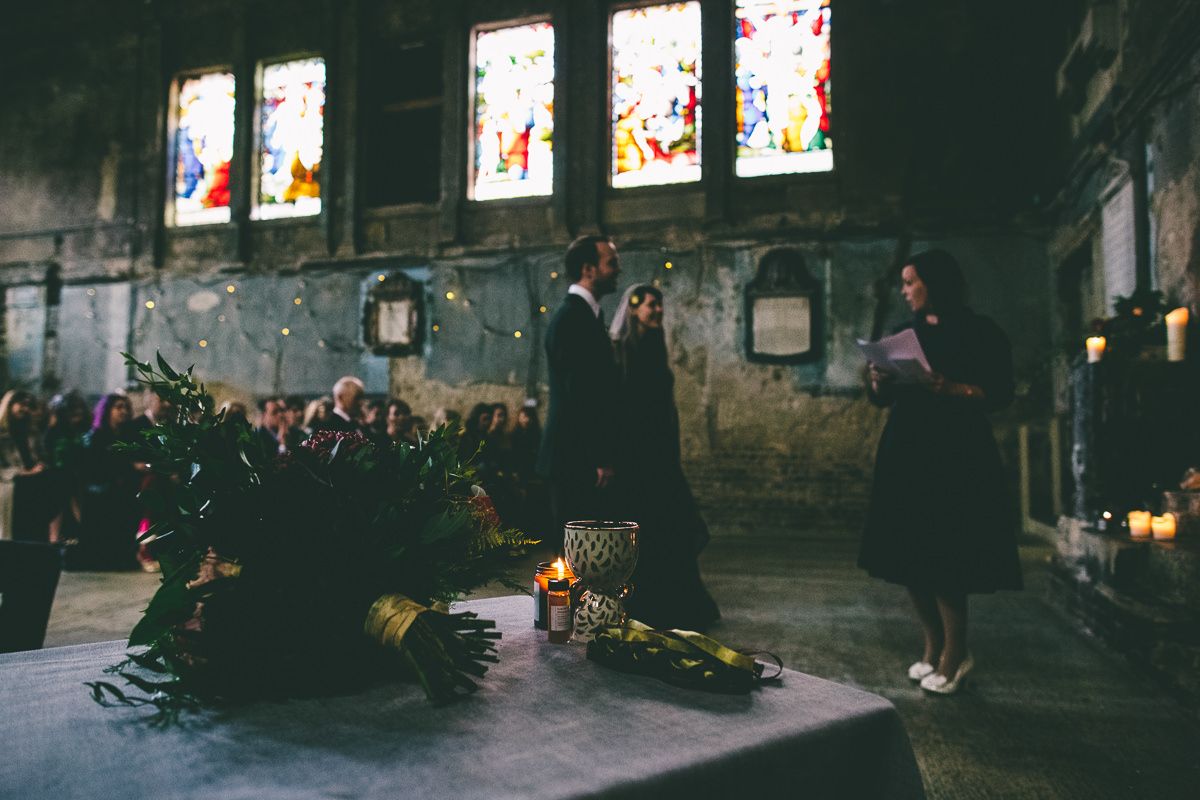 The Asylum London Wedding