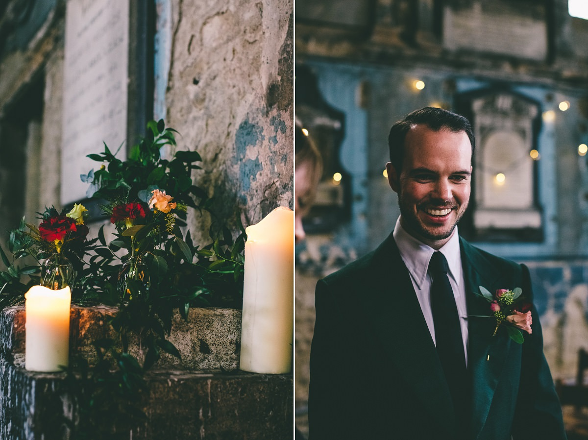 The Crypt London Wedding