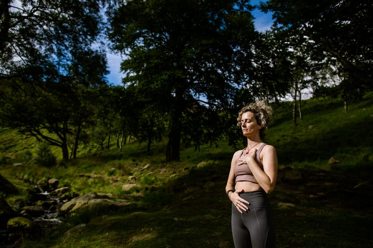 Manchester Yoga Teacher Portrait