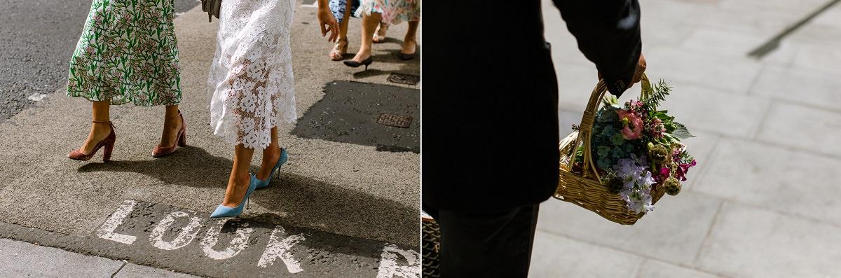 Modern London Wedding