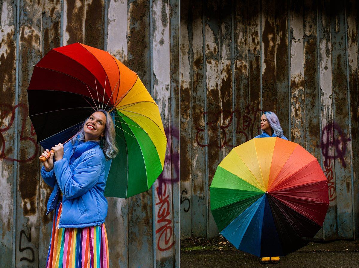 Colourful Branding Portraits