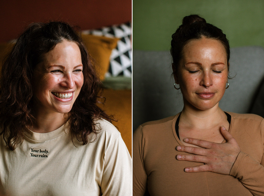 Yoga Portraits at Home