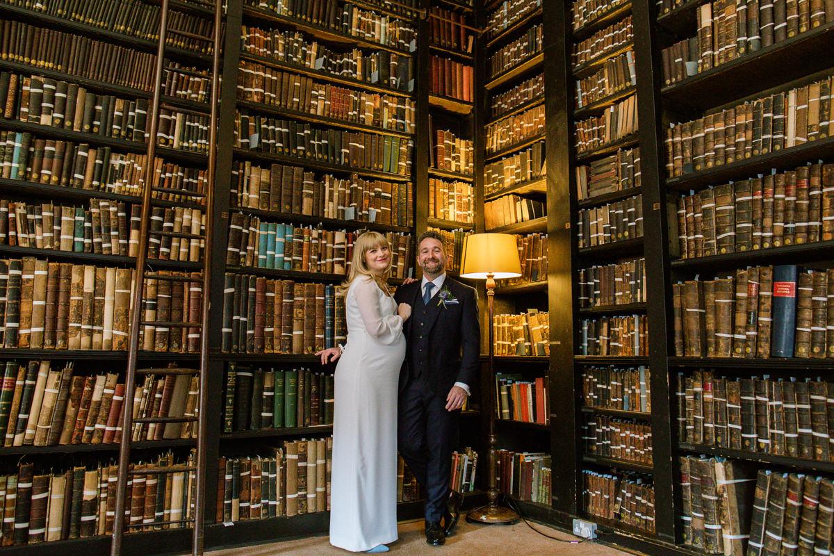 Portico Library Micro Wedding Photography