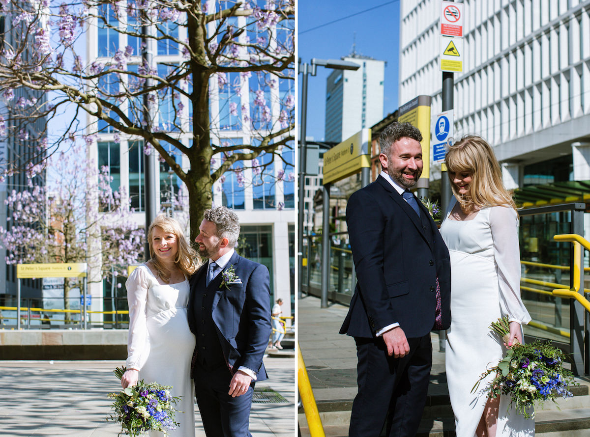 Manchester City Centre Wedding Portraits
