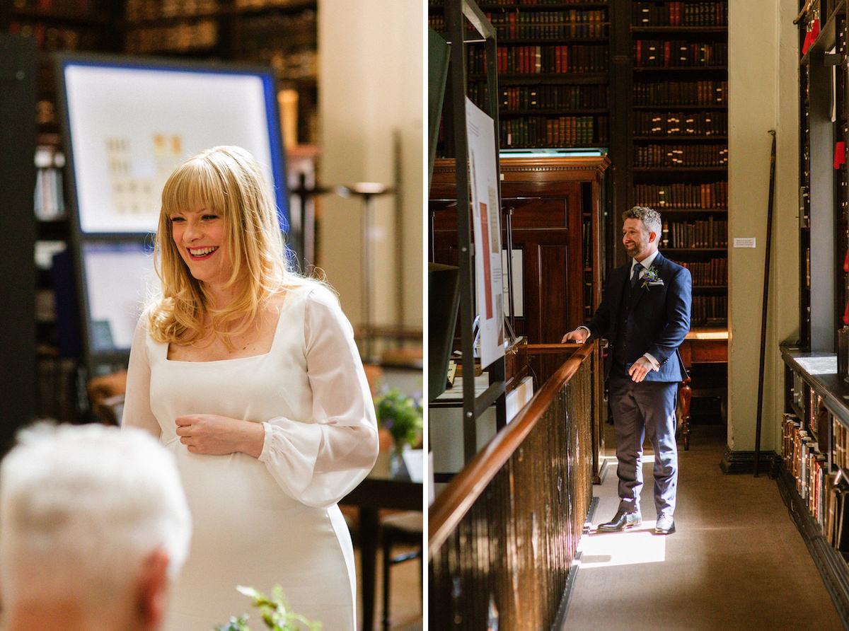 Portico Library Micro Wedding